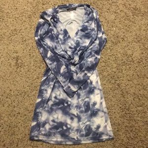Stretchy tie dye dress